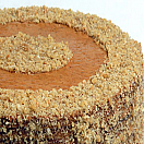 Torta de manjar y lúcuma