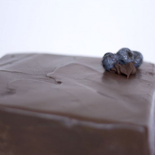 Torta de panqueque chocolate y trufa