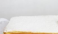 Torta de panqueque naranja