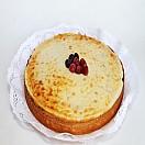 Kuchen de frambuesa con arándanos